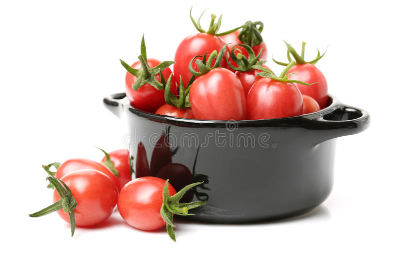 Petite tomate-cerise images stock