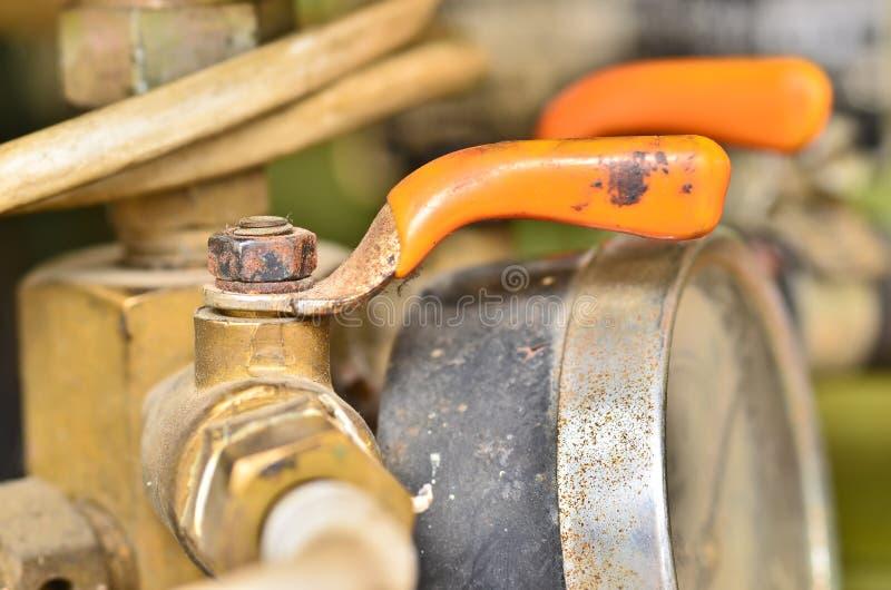 Petite valve rouillée photos libres de droits