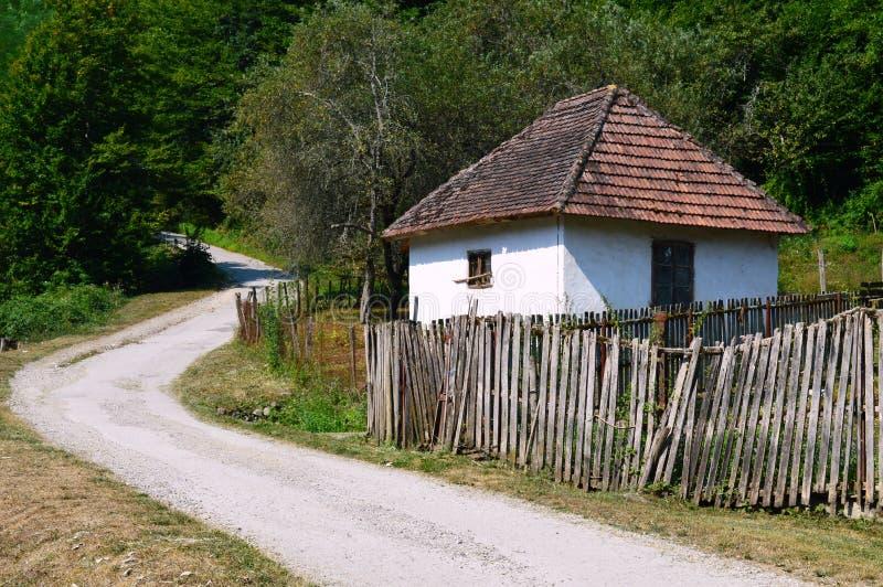 Petite vieille maison image libre de droits