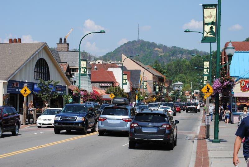 Petite ville Amérique photos stock