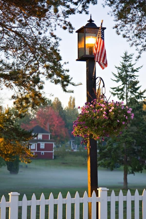 Petite ville Etats-Unis images libres de droits
