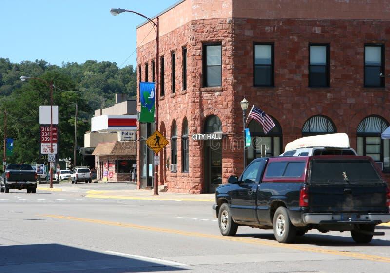 Petite ville Etats-Unis photos libres de droits