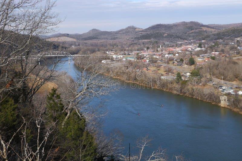 Petite ville Tennessee photo stock