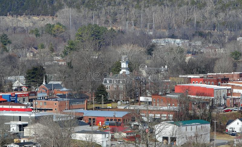 Petite ville Tennessee photographie stock