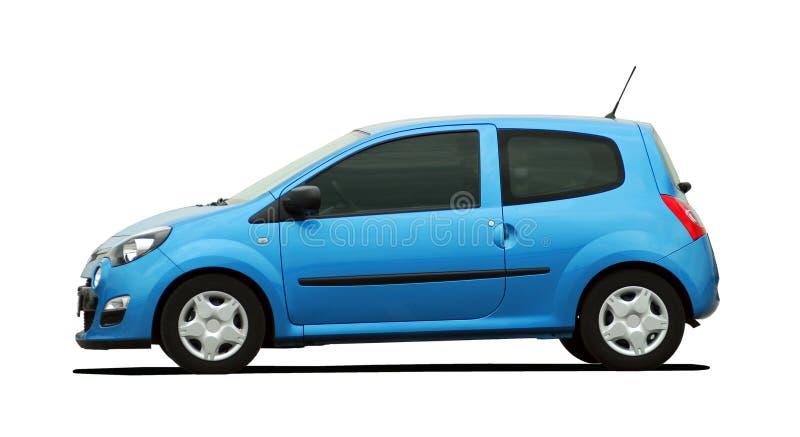 petite voiture bleue photo stock image du bleu m tal 32347446. Black Bedroom Furniture Sets. Home Design Ideas