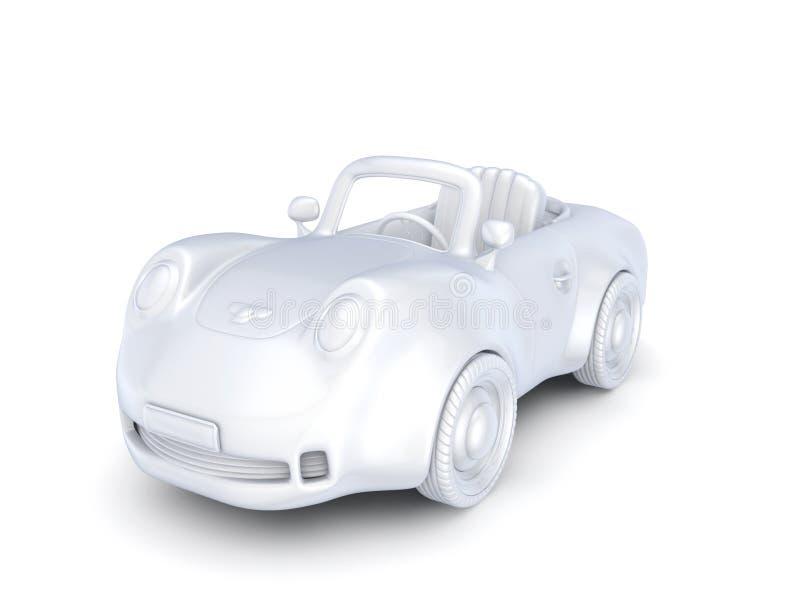 petite voiture 3d. photo libre de droits