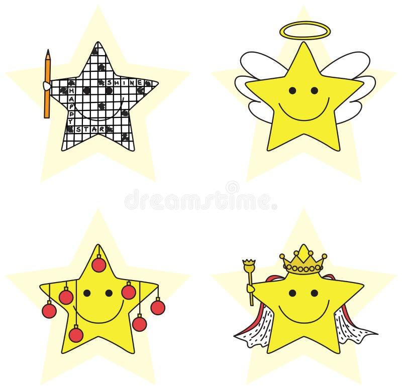 Petites étoiles illustration de vecteur
