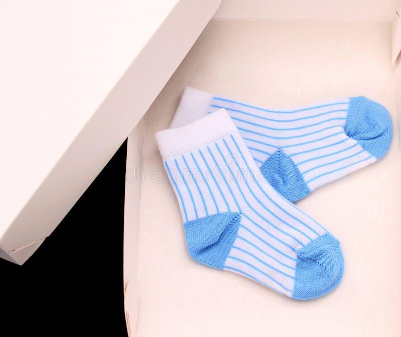 Petites chaussettes photographie stock libre de droits