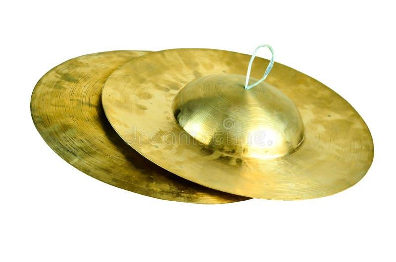 Petites cymbales thaïes photographie stock
