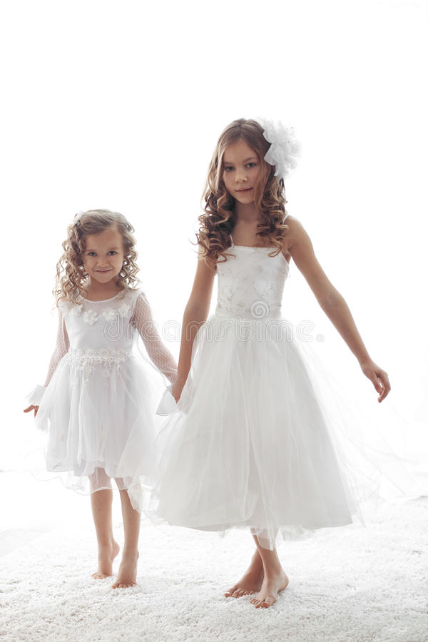Petites filles image libre de droits