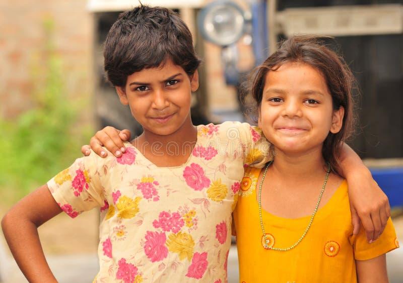 Petites filles de sourire images libres de droits