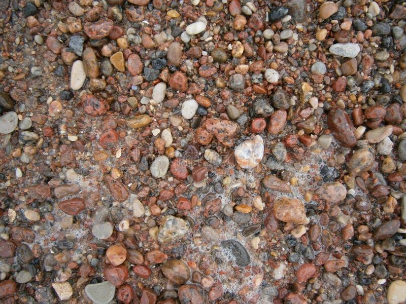 Petites pierres de mer image libre de droits
