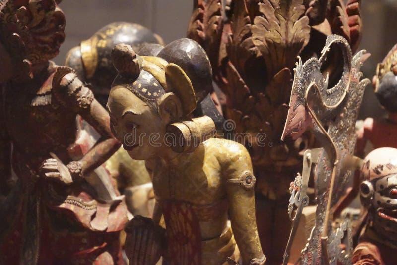 Petites statues rituelles des ancêtres images libres de droits