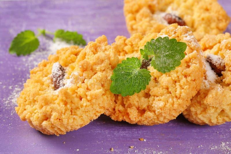 Petits biscuits d'amande image libre de droits