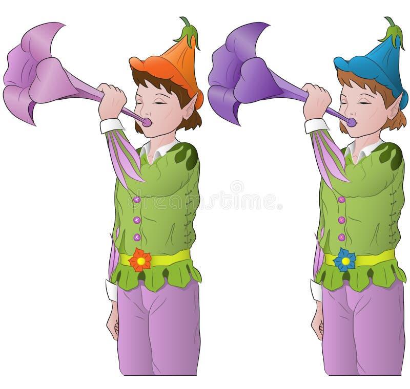 Petits elfes illustration libre de droits