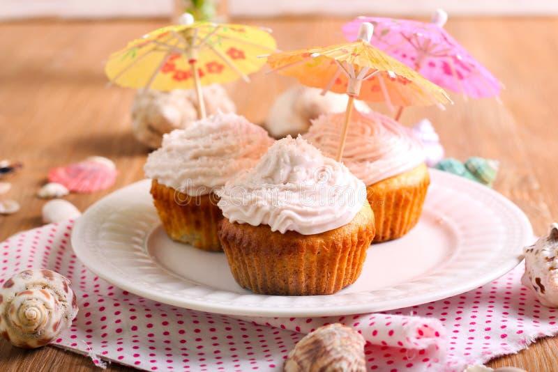 Petits gâteaux de colada de Pina photos libres de droits