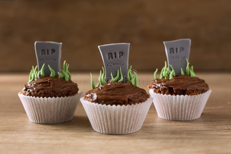 Petits gâteaux de DÉCHIRURE de Halloween photo libre de droits