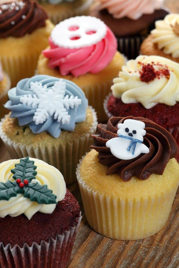 Petits gâteaux de Noël images stock