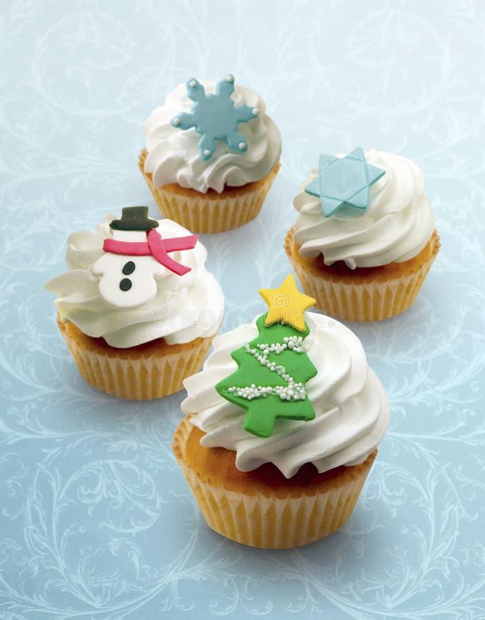 Petits gâteaux de vacances ! image stock