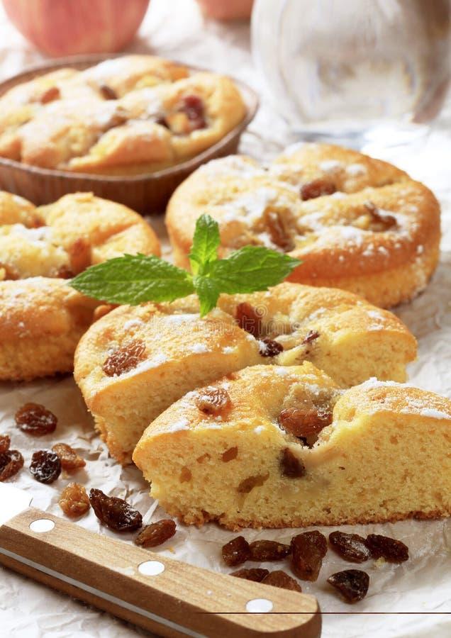 Petits gâteaux mousseline photographie stock