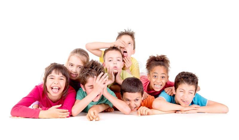 Petits gosses photographie stock