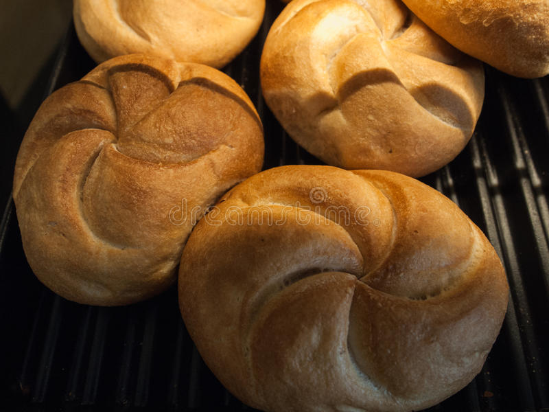 Petits pains blancs mous photo libre de droits