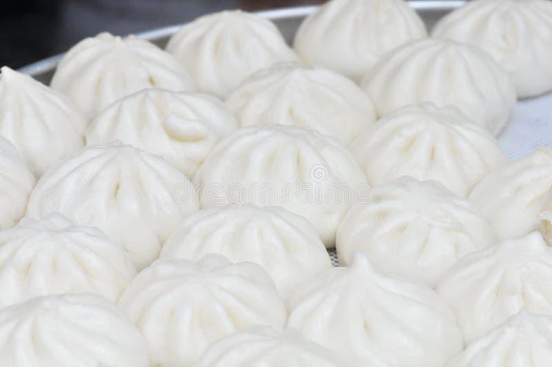 Petits pains bourrés par Goubuli de Tianjin photographie stock libre de droits