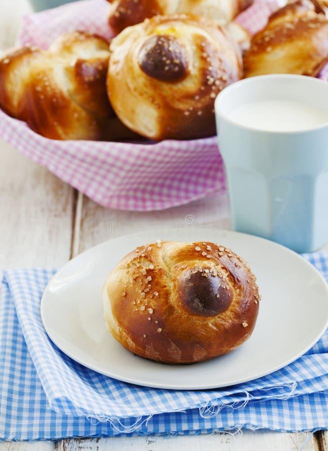 Petits pains de bonbon à levure photos libres de droits