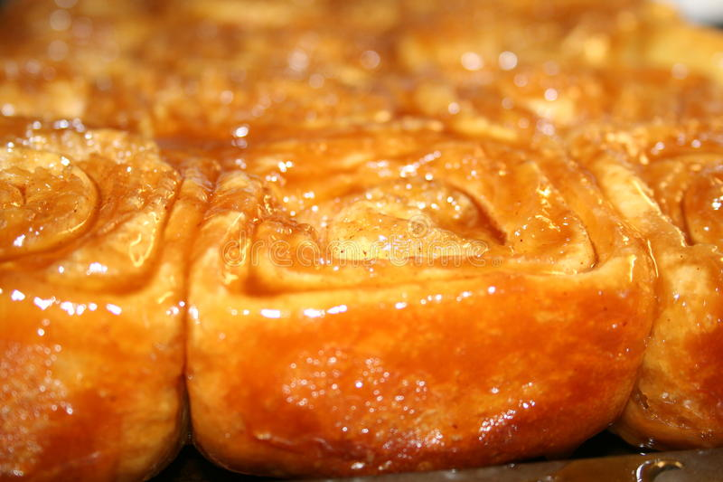 Petits pains de caramel photographie stock