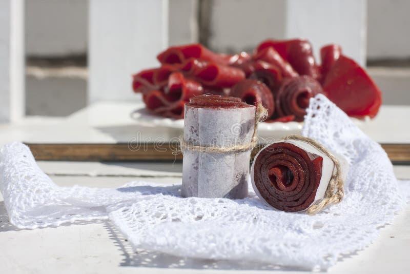 Download Petits Pains De Cuir De Fruit, Tir De Plan Rapproché Photo stock - Image du préservé, homemade: 56487918