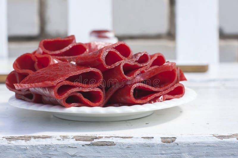 Download Petits Pains De Cuir De Fruit, Tir De Plan Rapproché Image stock - Image du assiette, homemade: 56487955