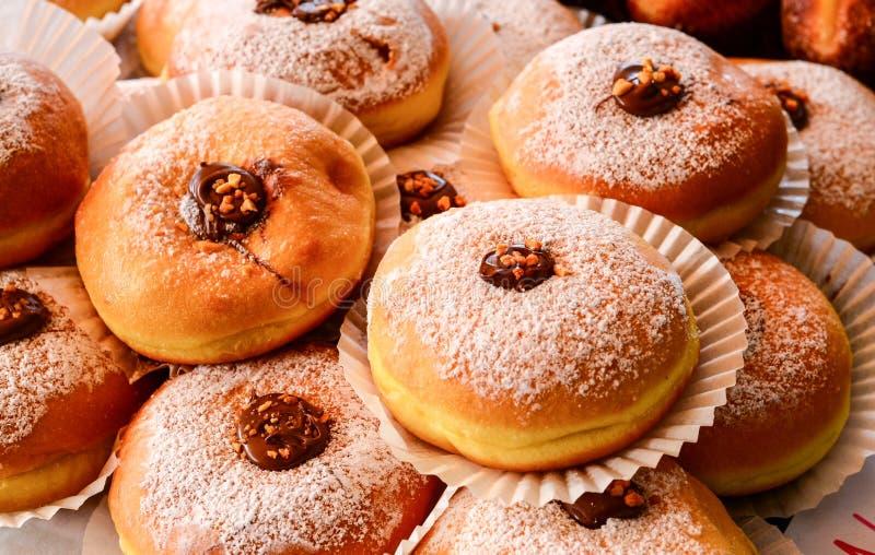 Petits pains de Nutella photo libre de droits