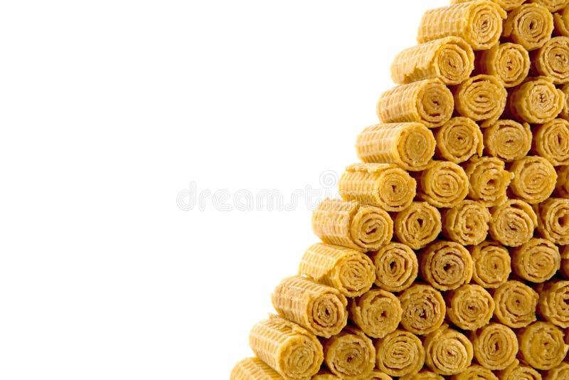 Petits pains de pyramide photos stock