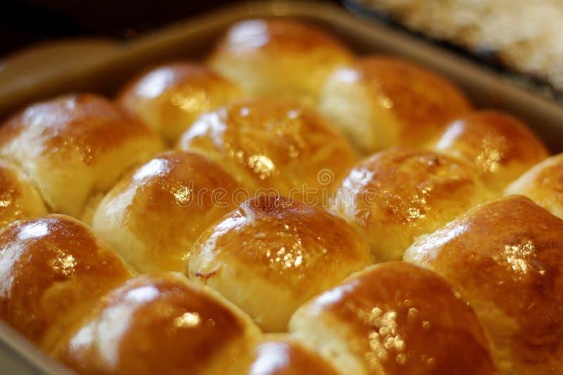 Petits pains directement du four photographie stock