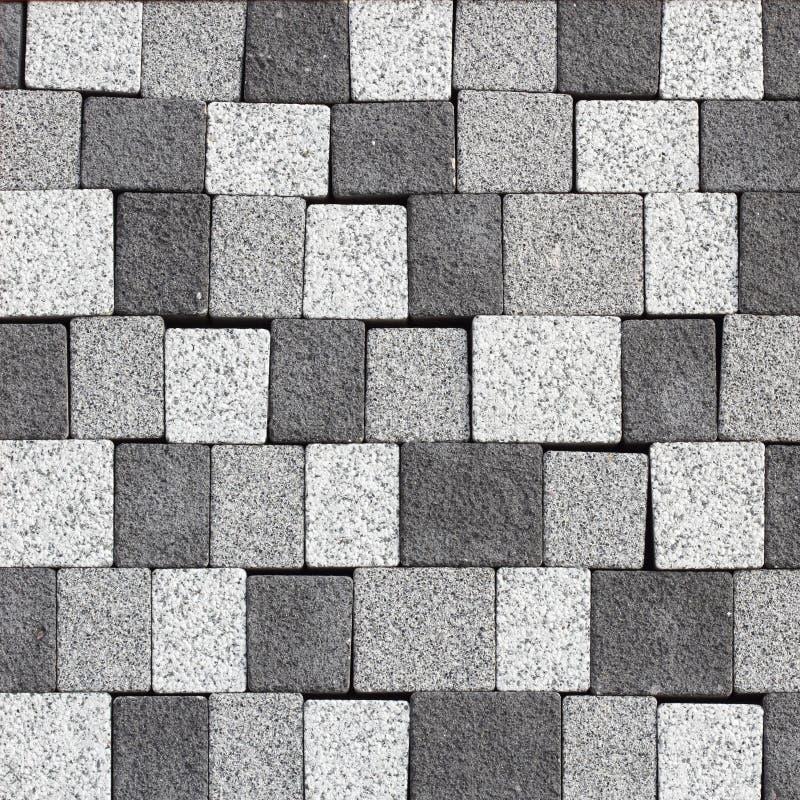 Petits pavés ronds de granit images libres de droits