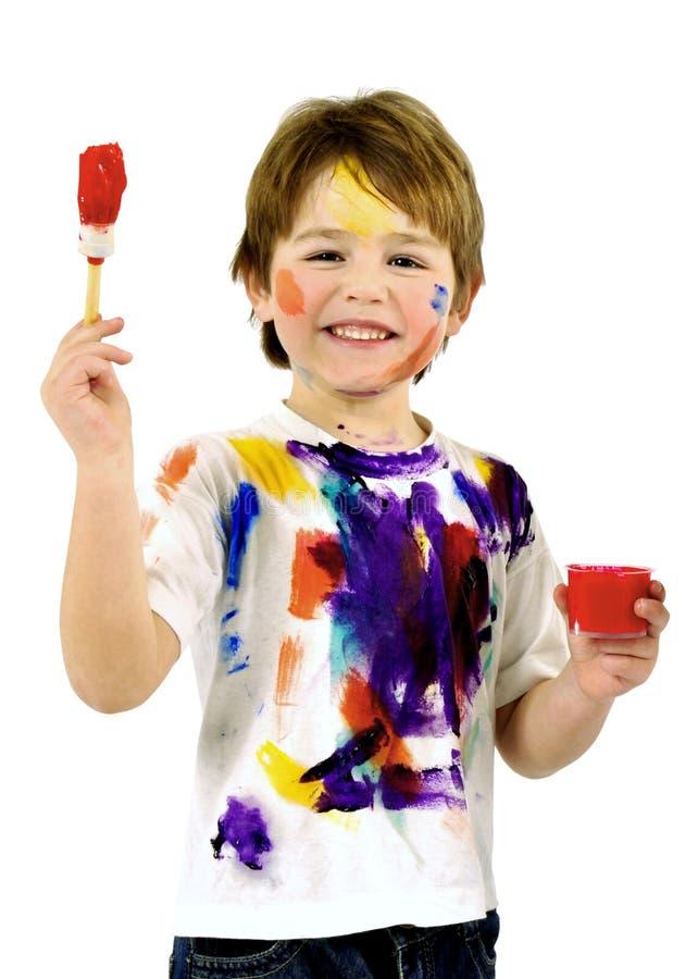 Petits peintres photo libre de droits