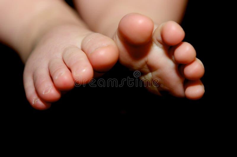 Petits pieds de chéri images libres de droits