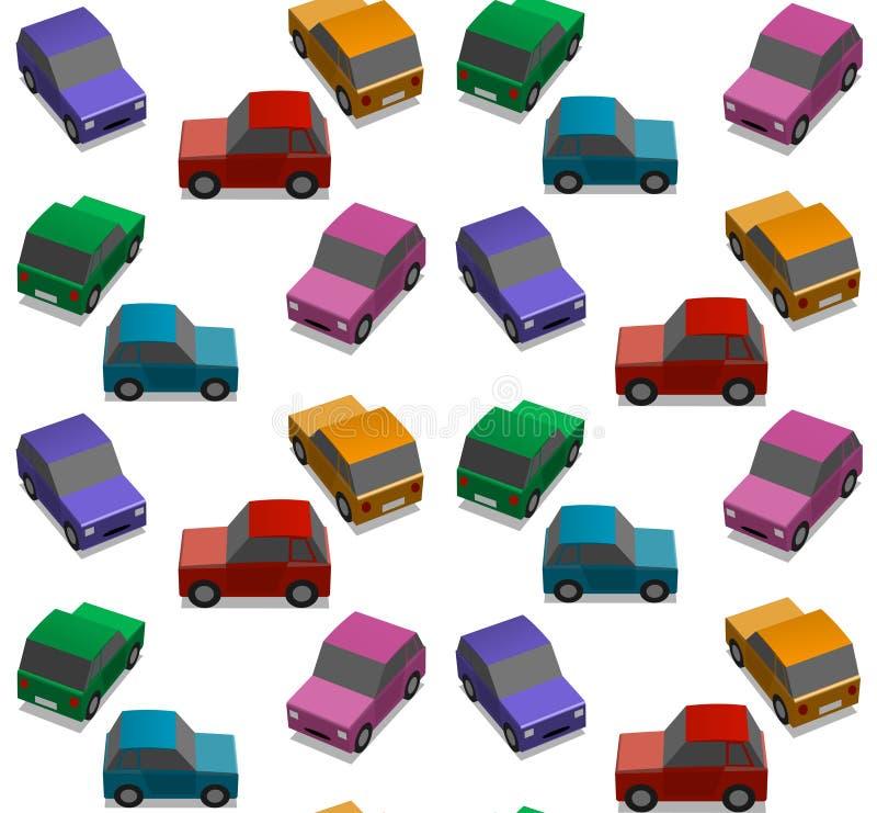 Petits véhicules illustration libre de droits