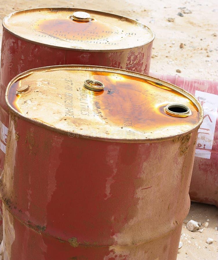 Petróleo árabe 2 imagens de stock