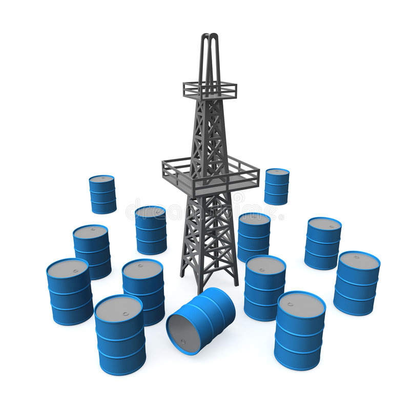Petróleo #2 stock de ilustración