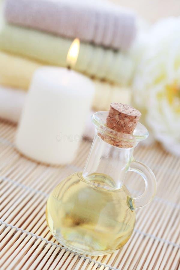 Petróleo da massagem fotos de stock royalty free