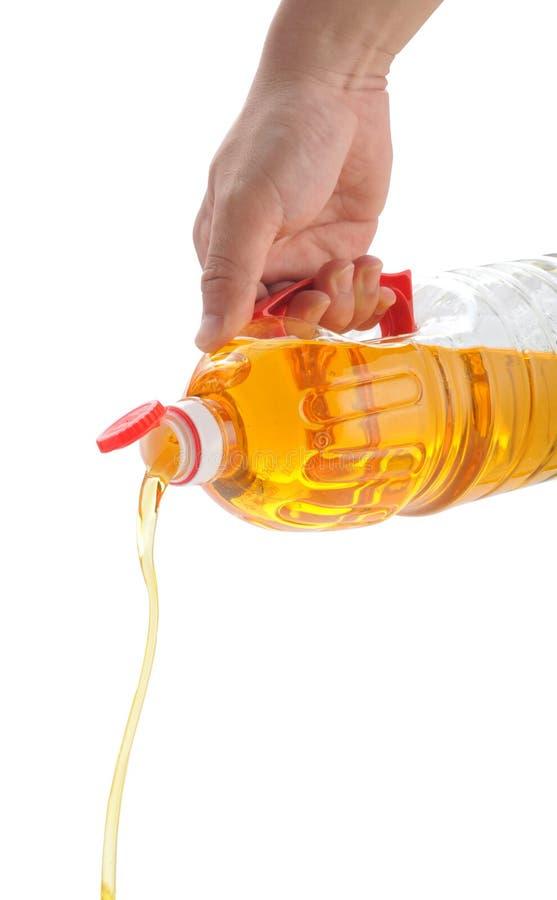 Petróleo de amendoim imagens de stock