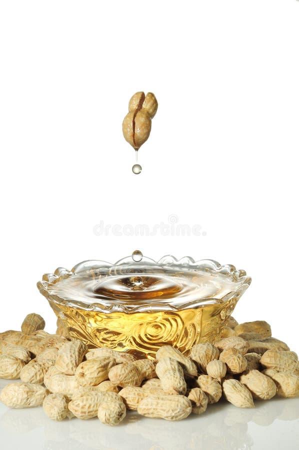 Petróleo de amendoim fotos de stock