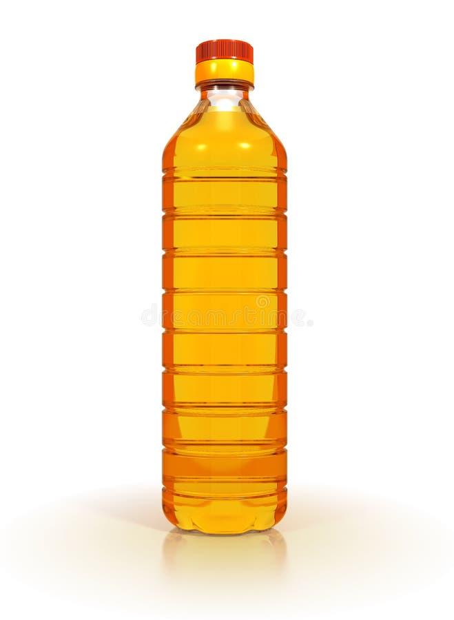 Petróleo do girassol fotografia de stock