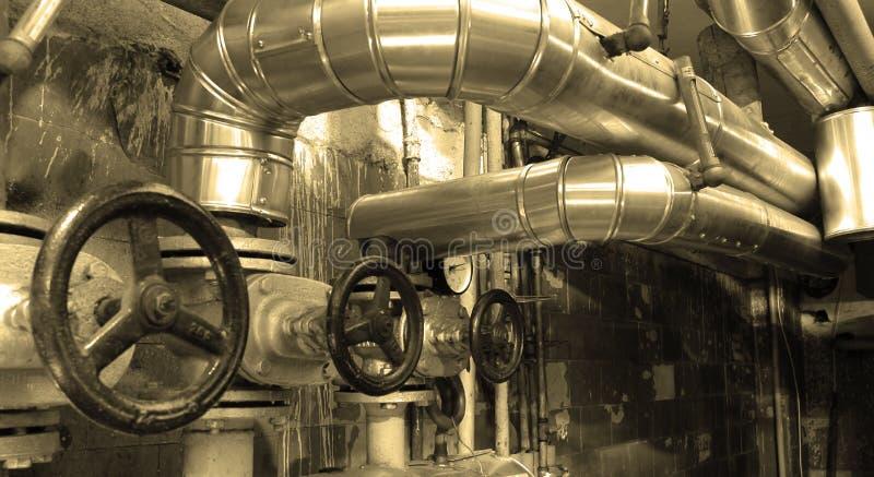 Petróleo e gasodutos imagens de stock