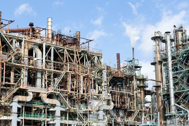 Petróleo e indústria do gás foto de stock