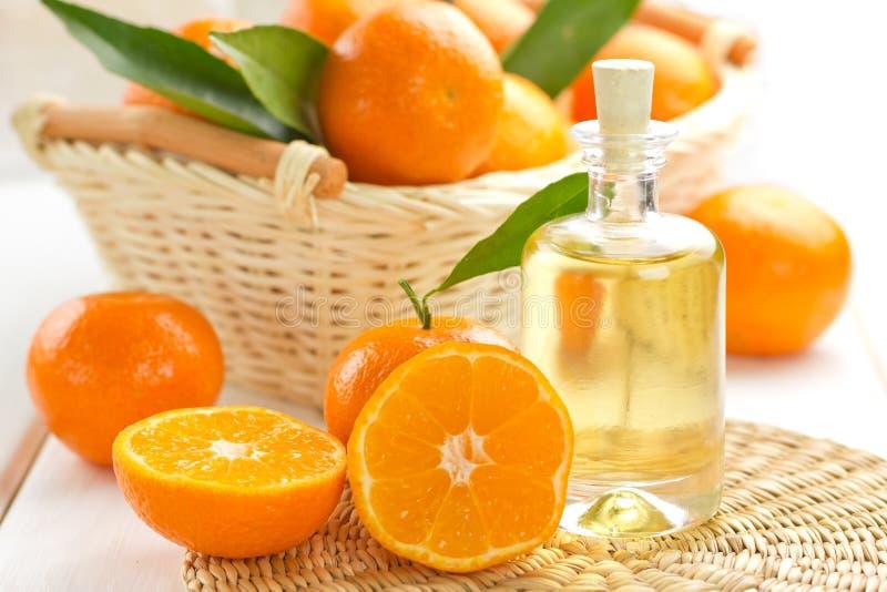 Petróleo esencial de la mandarina
