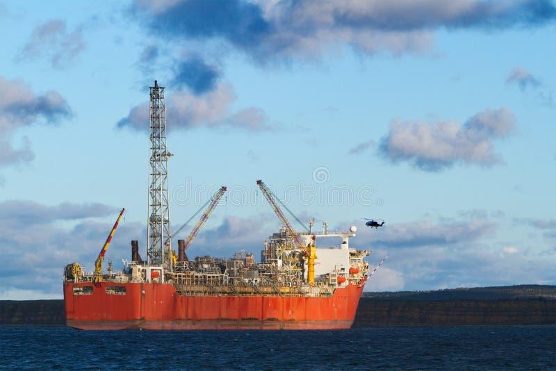 Petróleo y gas imagenes de archivo