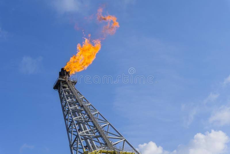 Petróleo y gas imágenes de archivo libres de regalías