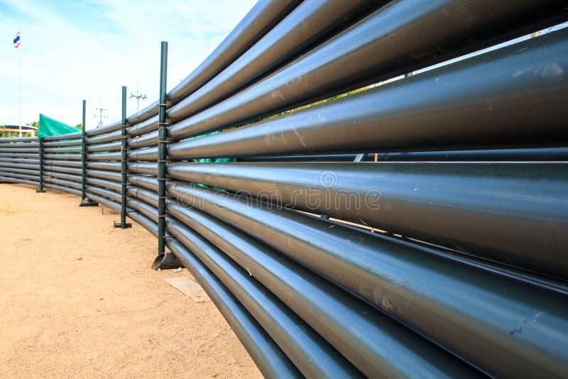 Petróleo y gas horizontal estructural del tubo foto de archivo libre de regalías